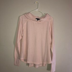 pink calvin klein pull over